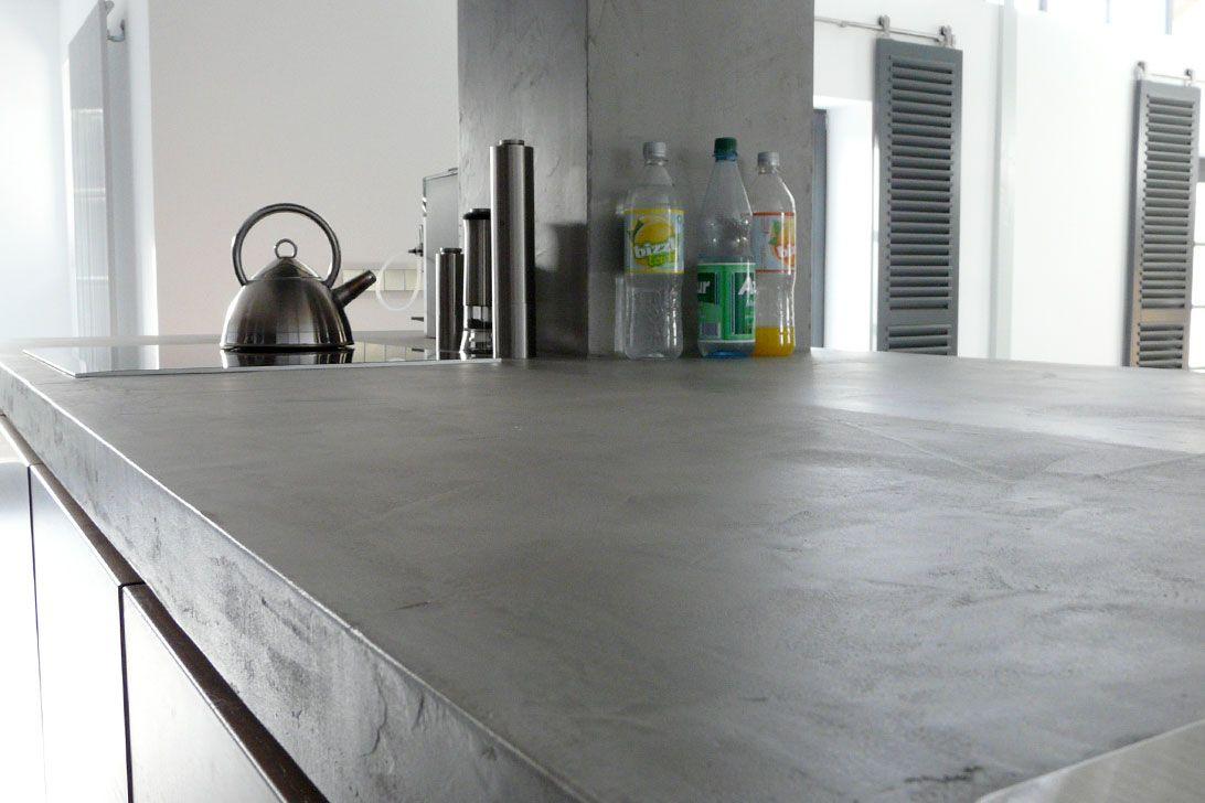 Arbeitsplatte aus beton  Beton Cire für Wände, Böden, Treppen, Arbeitsplatten | # K ü C H E ...