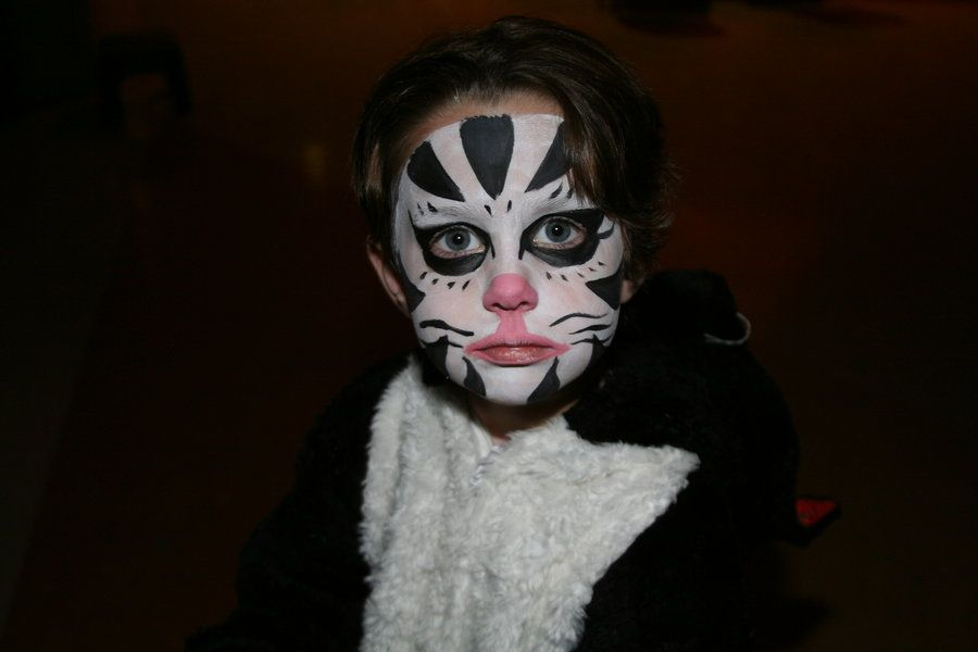 20+ Cool and Scary Halloween Face Painting Ideas HALLOWEEN - halloween face paint ideas scary