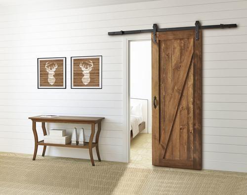 Colonial Elegance Reg 33 W X 84 H Chalet Model Knotty Pine Interior Door Slab Interior Barn Doors Barn Door Home