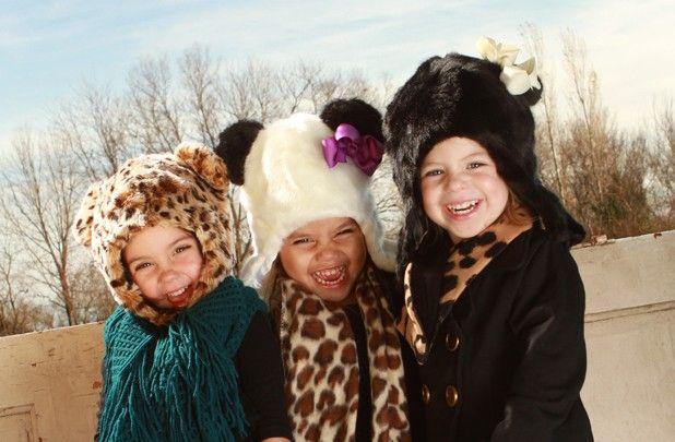 GroopDealz | Faux Fur Hat in 3 Animal Styles