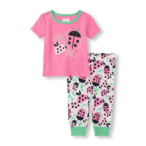81455d1de28e Baby Girls Baby And Toddler Short Sleeve  Daddy s Little Lady ...
