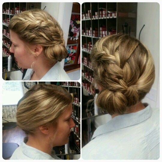 Wedding Hair Braided: Hair by Mindi