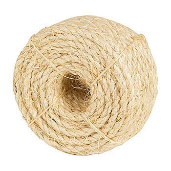 This Sisal Rope Is A Biodegradable Twisted Rope Each Roll Measures 1 4 Inch Thick X 50 Feet Long And Has A Break Stren Sisal Rope Sisal Biodegradable Products