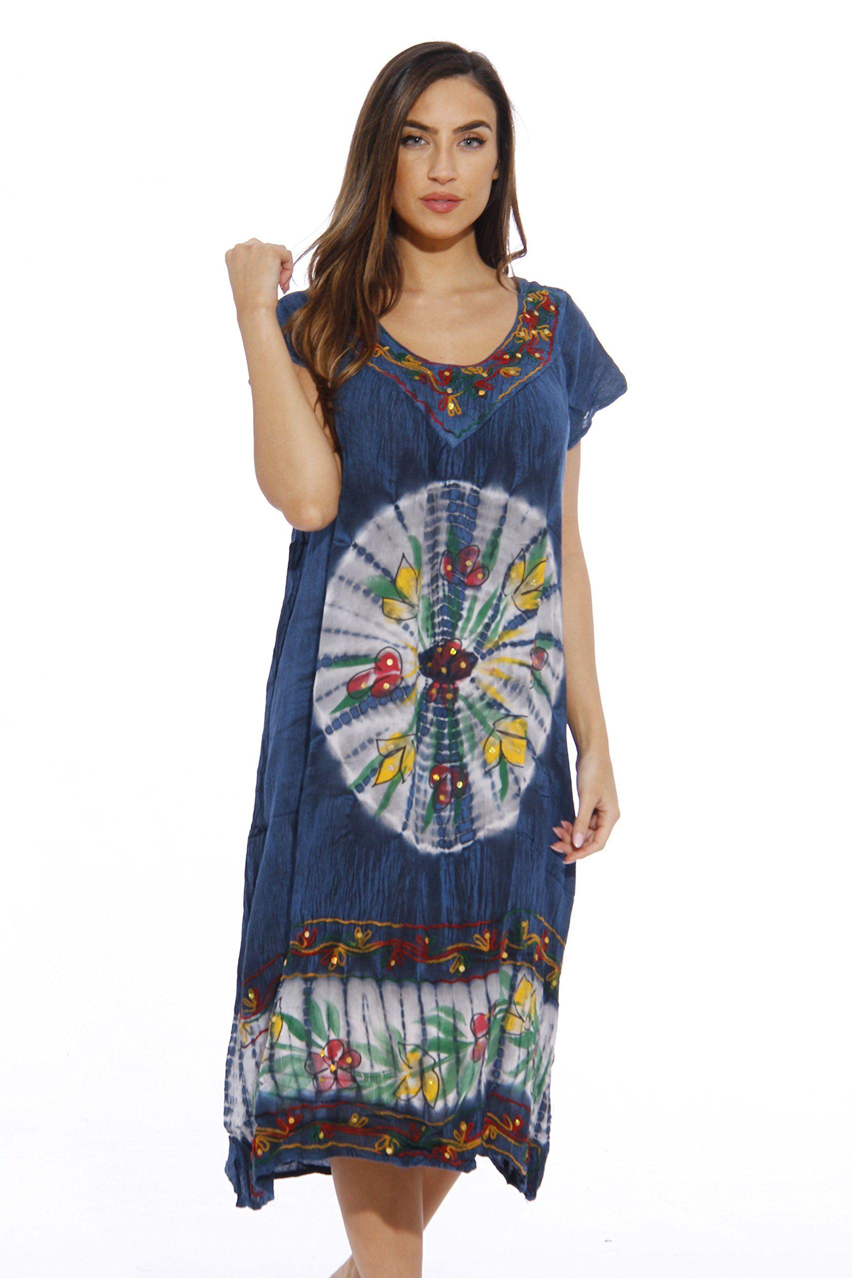 9c4f03f0f7 Riviera Sun Plus Size Summer Dresses / Swimsuit Cover Up / Resort Wear