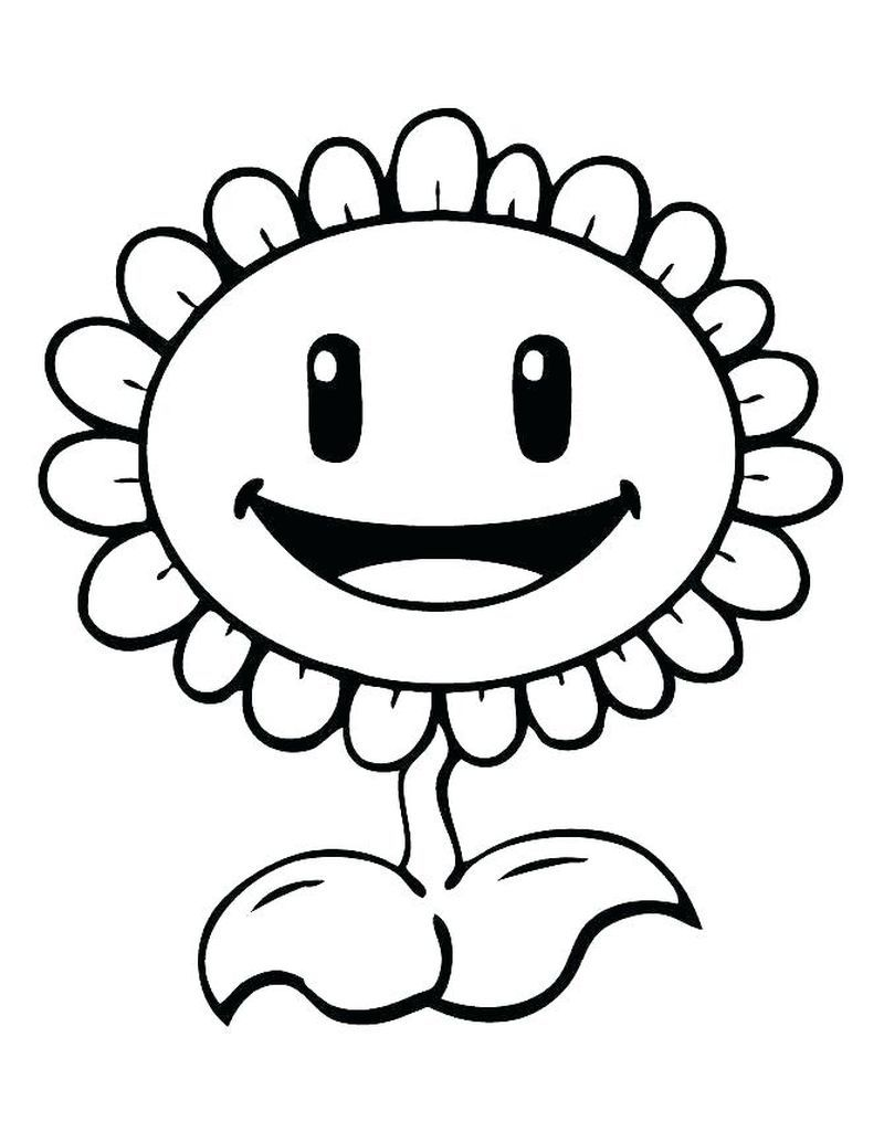 Plants Vs Zombies Battle For Neighborville Coloring Pages In 2020 Plants Vs Zombies Birthday Party Plants Vs Zombies Sunflower Coloring Pages