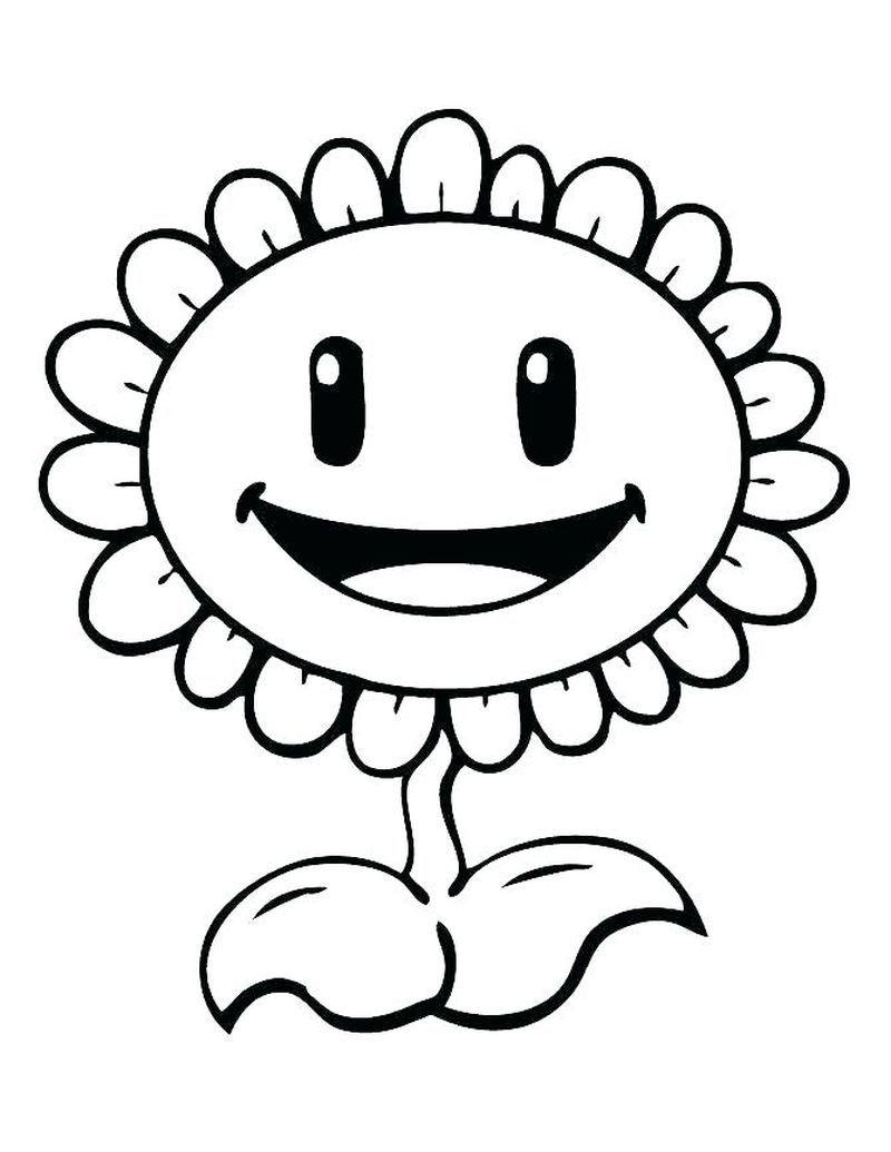 Plants Vs Zombies Battle For Neighborville Coloring Pages In 2020 Sunflower Coloring Pages Plants Vs Zombies Birthday Party Coloring Pages