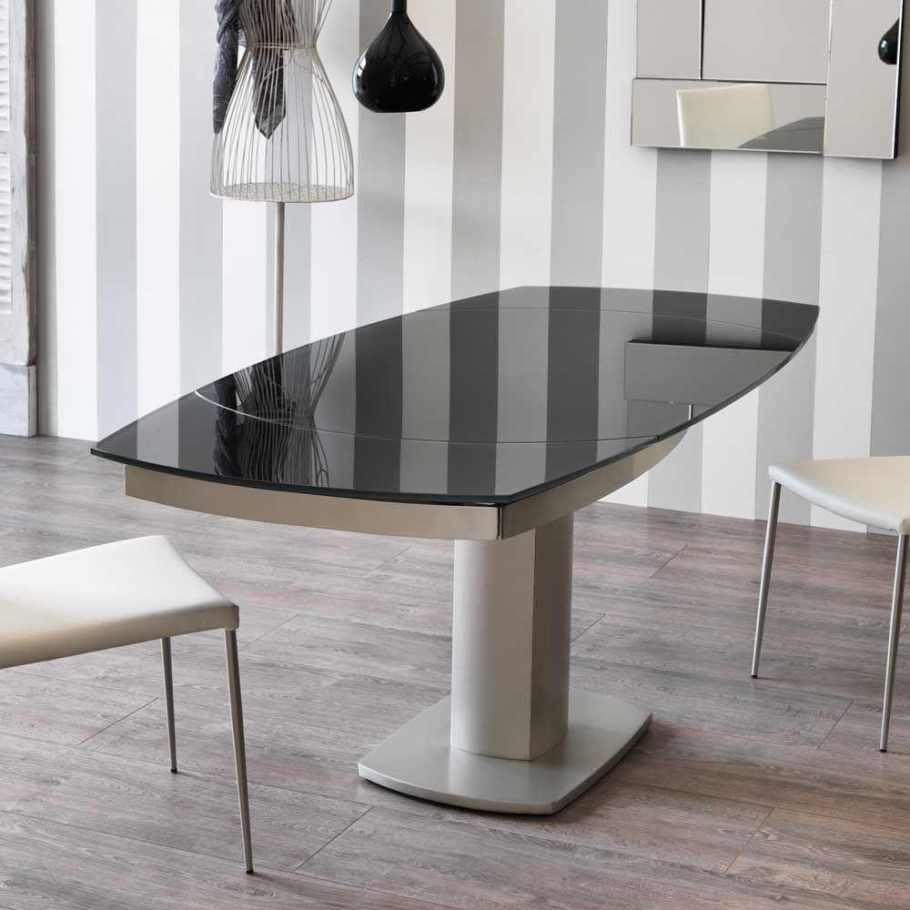 Eitelkeit Esstisch Ausziehbar Oval Dekoration Von Mit Grauer Glasplatte Jetzt Bestellen Unter: Https://moebel.ladendirekt