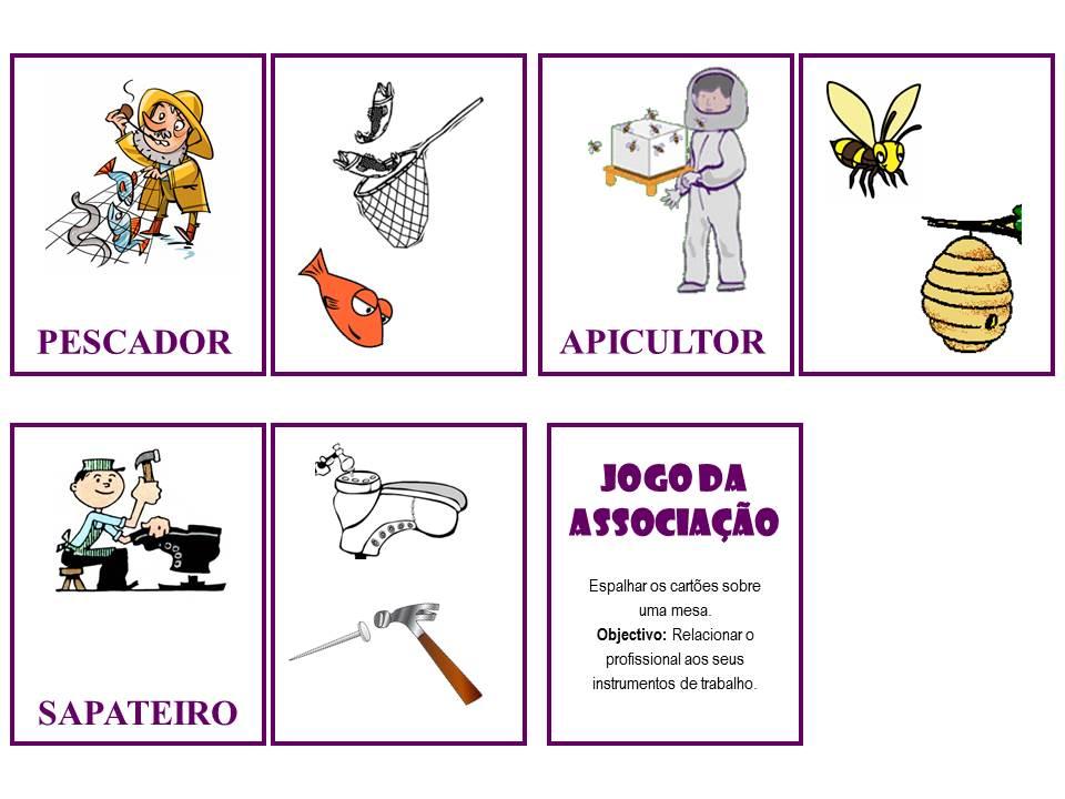 Jogo Quem Sou Eu Das Profissoes Educacao E Transformacao Educacao Educacao Infantil Planos De Aula