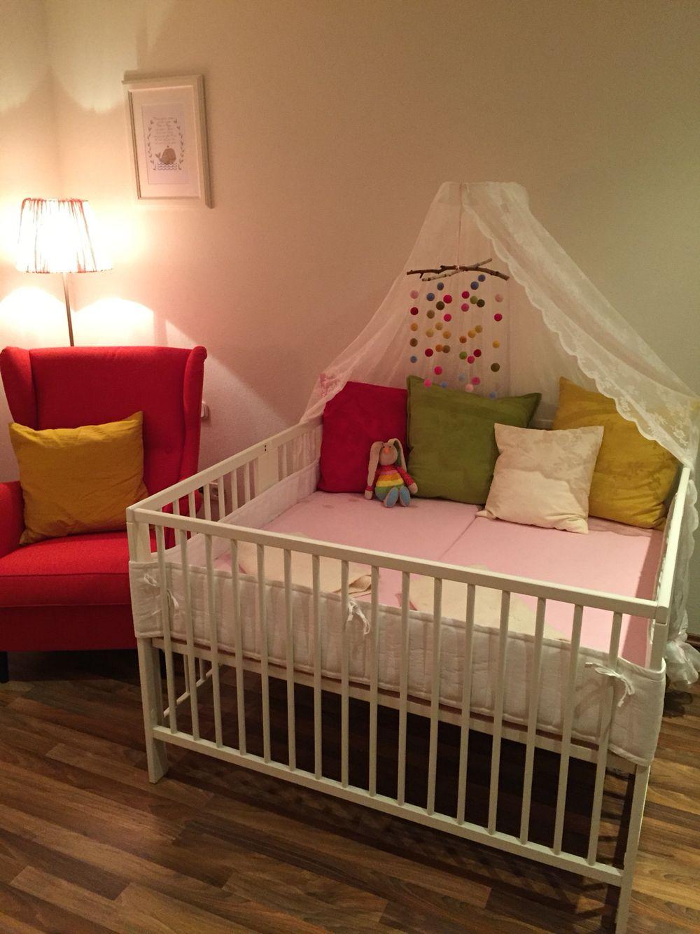 Aus Zwei Ikea Gulliver Wird Ein Bett Fur Die Zwillinge Zwillinge Babyzimmer Zwillinge Zimmer Ikea Babybett