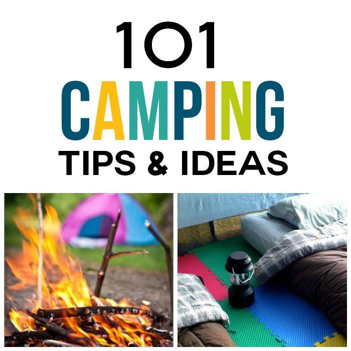 101 Camping Tips & Ideas | Camping hacks, Camping supplies ...