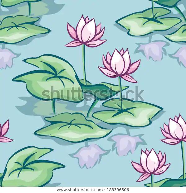 Image vectorielle de stock de Vector Seamless Background