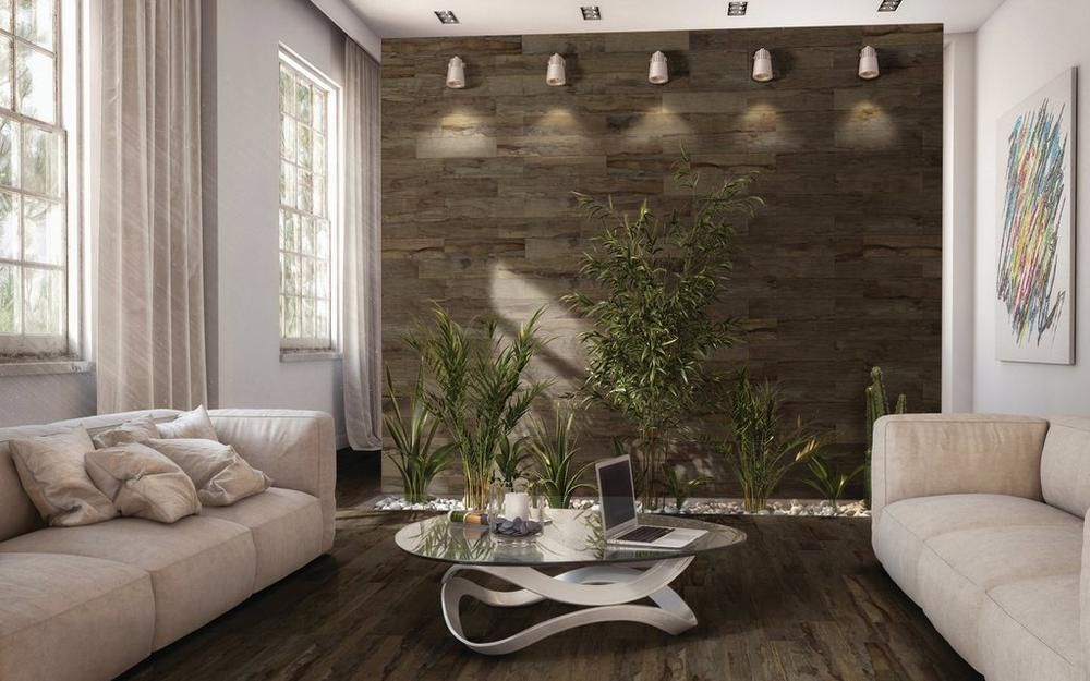 Westford Brown Wood Plank Porcelain Tile Wood Planks