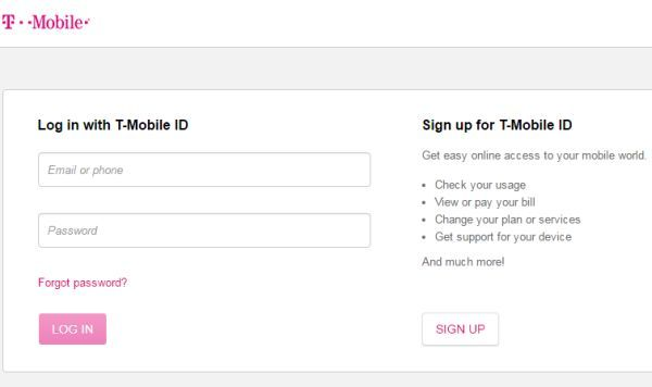My T Mobile Login To Access Online Mobile World Technology