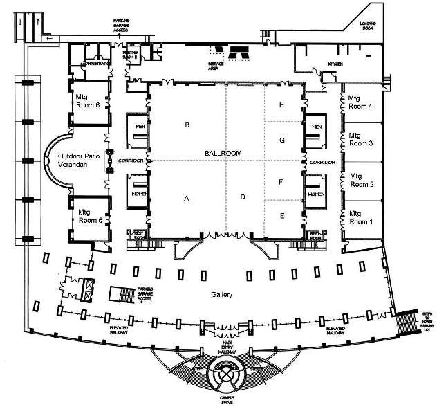 Hurst Conference Center Floor Plans Floor Plans Hotel Room Plan Hotel Floor Plan