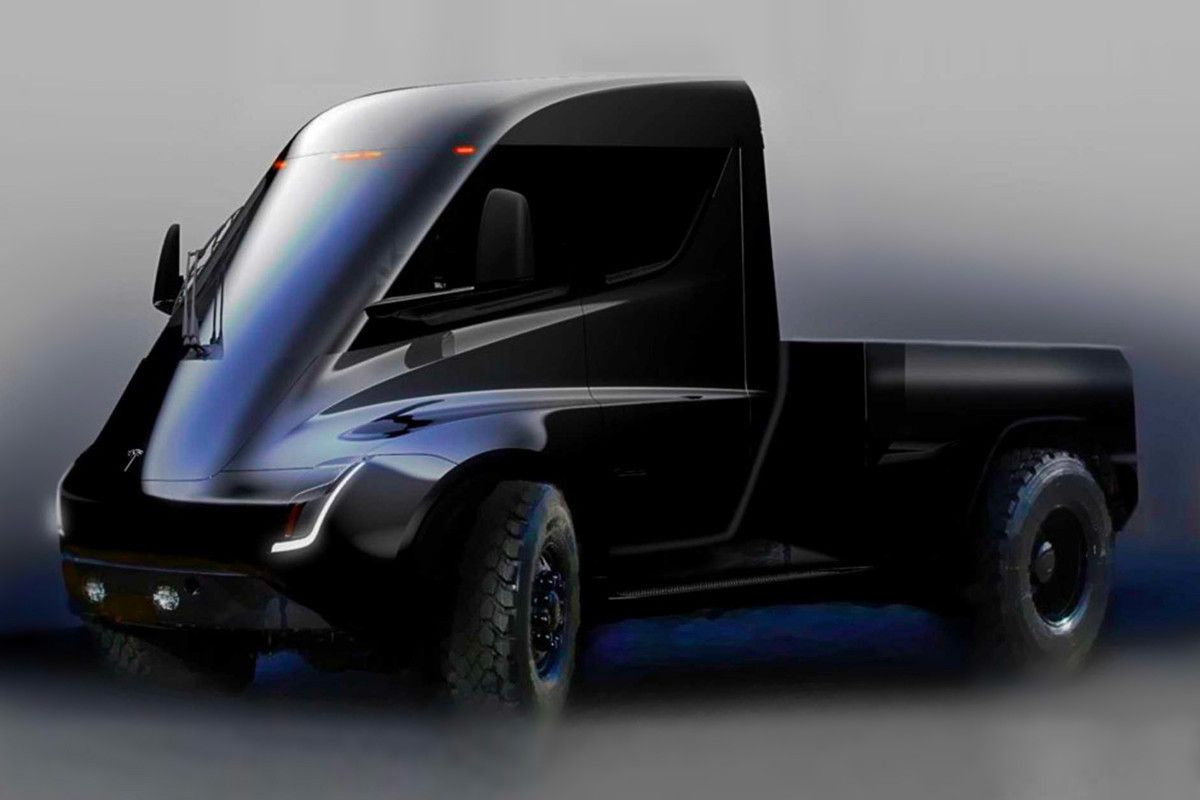 Elon Musk Teases Tesla S Forthcoming Blade Runner Pickup Truck Tesla Pickup Pickup Trucks Tesla Pickup Truck