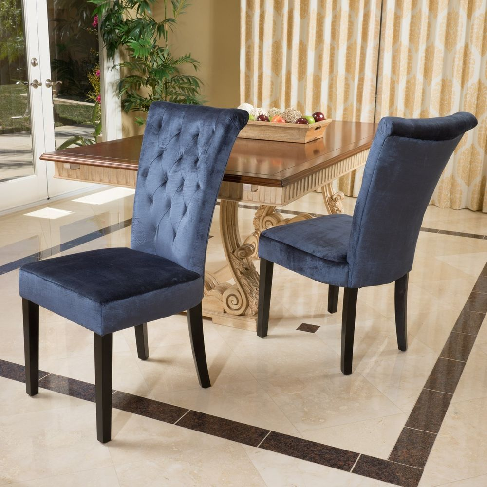 Velvet Tufted Dining Chairs. Tufted Dining Chairs. Wingback Dining ...