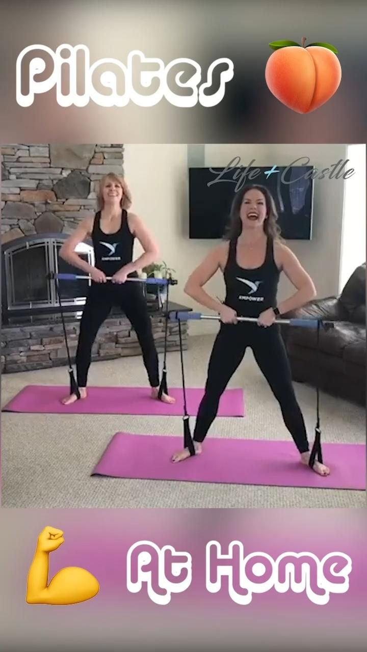 Multi functional yoga-pull rods portable gym pilates bar with resistance band.