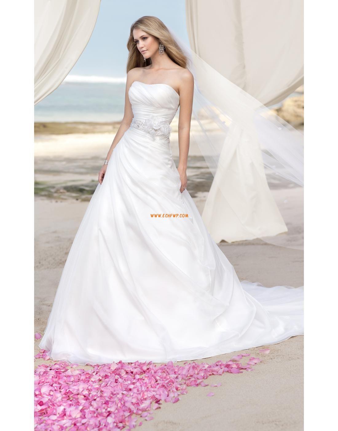 Natural wedding dresses  Court Train Glamorous u Dramatic Natural Wedding Dresses