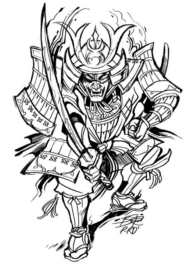 79 Extremely Creative Tattoo Drawings To Try At Home Tattoo Design Drawings Samurai Tattoo Samurai Tattoo Design