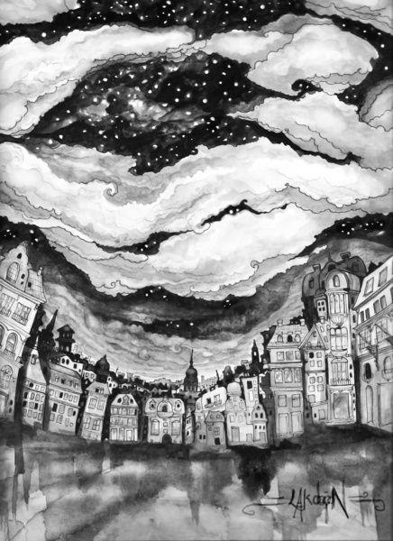 """All The Stars In Copenhagen""  by Leyla Akdogan"