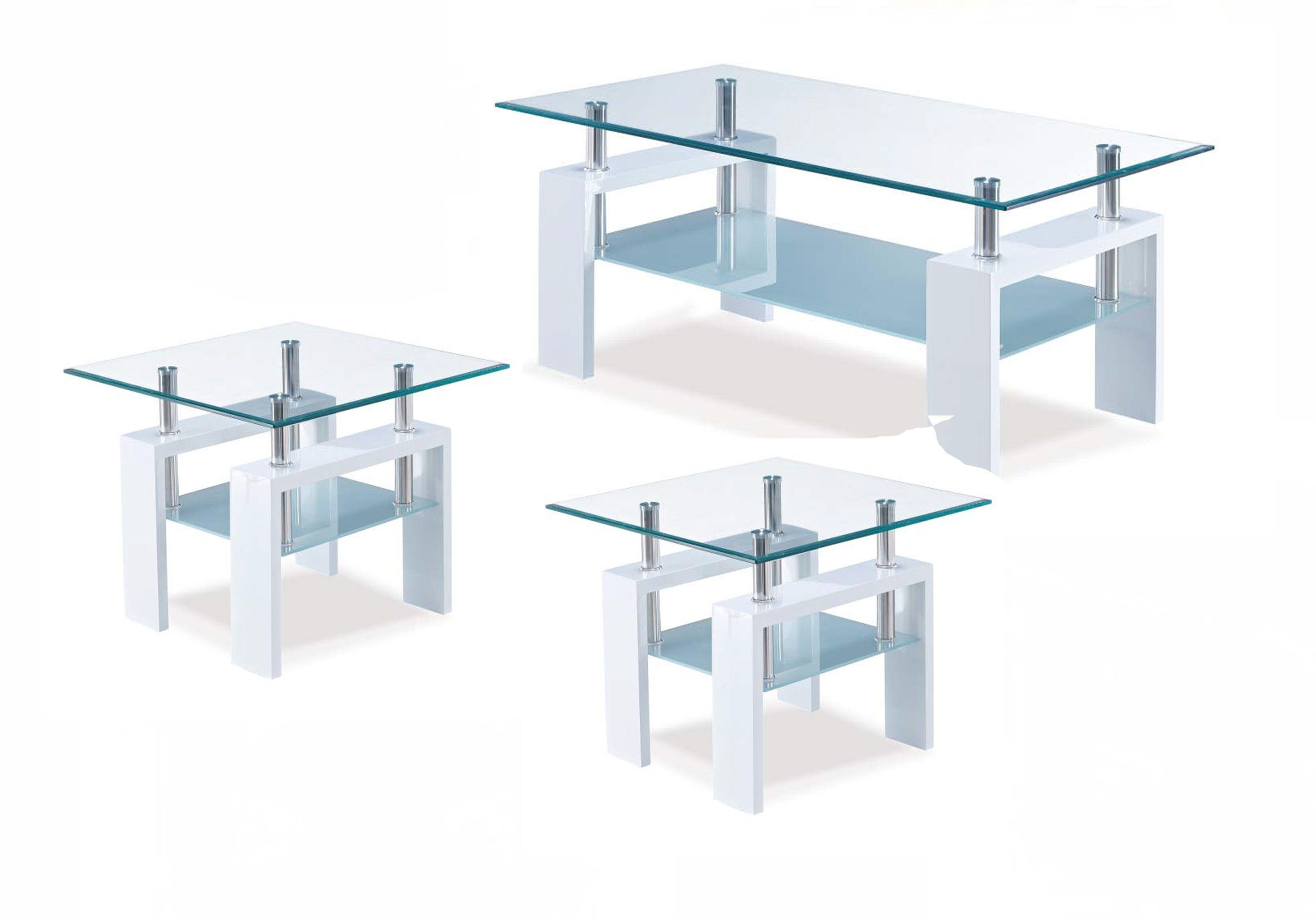 Global Furniture 3pc Coffee Table Set Gl T648c