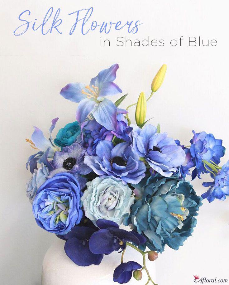 Navy sapphire tiffany dusty blue silk flowers event flowers navy sapphire tiffany dusty blue silk flowers mightylinksfo