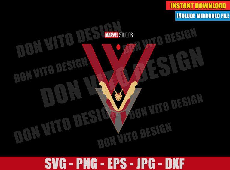 Pin On Wandavision Svg Png Cut Files Disney Marvel