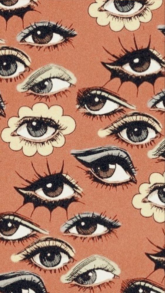 60s eyes✨👁️👁️✨ Artist: Corinne Elyseo