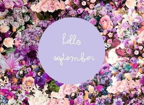 Hello September! #helloseptember