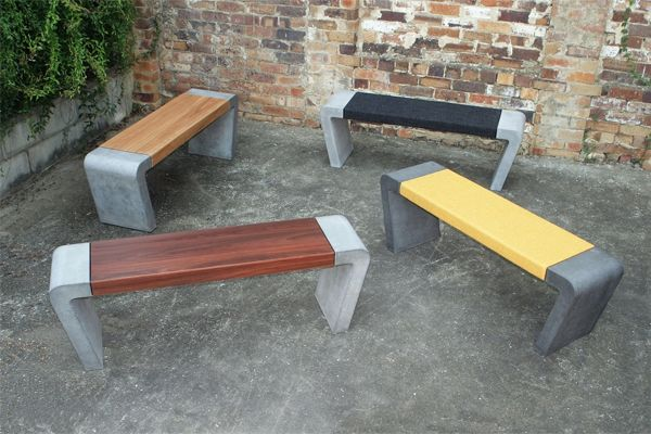 Concrete Vision Taking The Slab To Sleek Indesignlive Concrete Bench Outdoor Bench Outdoor Garden Bench
