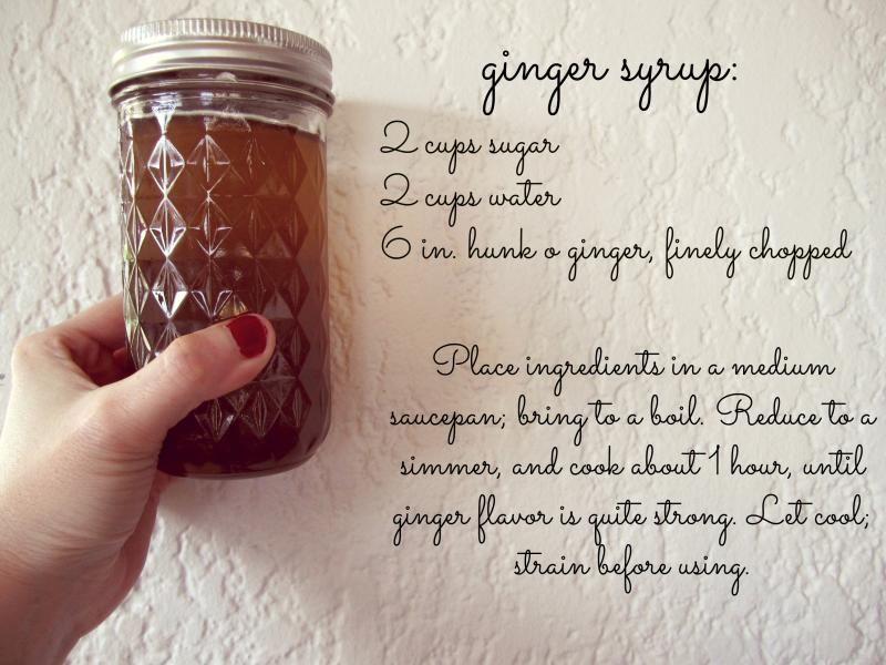 ginger simple syrup Simple syrup, Ginger syrup