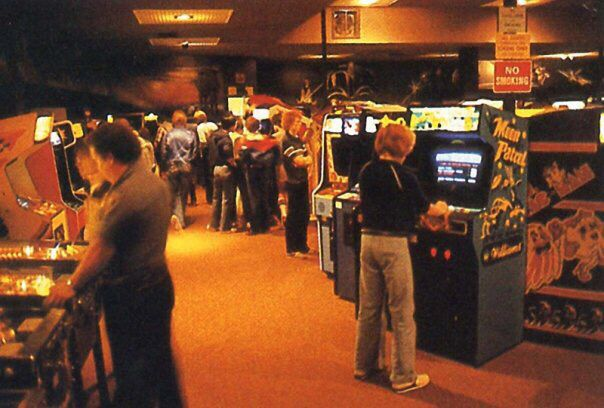 A Large Early 80s Arcade