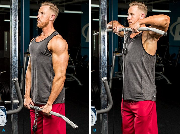 how to build chest and shoulders