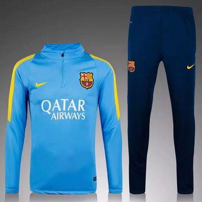 Survetement de foot Barcelone Haut d'entraî