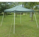 Outsunny Slant Leg Easy Pop-Up Canopy Party Tent, 10 x 10-Feet, Green   Outsunny Slant Leg Easy Pop-Up Canopy Party Tent, 10 x 10-Feet, Green The Outsunny slant leg shelter is the perfect pop up tent for the beach, backyard or even flea market stall. With a rust resistant slant leg frame and UV blocking, light weight, cover this is the sun shade tent you have been looking for. Telescoping legs let you easily adjust height, while the pop up frame makes set up and tear down a snap.    ..