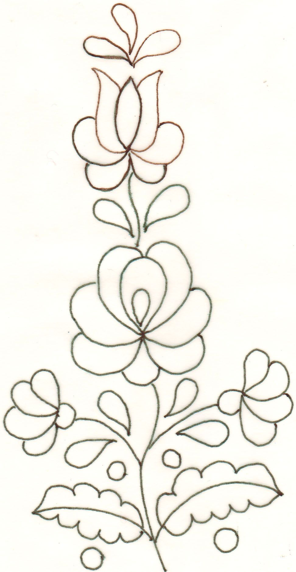 Wouldn\'t this be pretty to quilt? Love it | embroidery | Pinterest ...