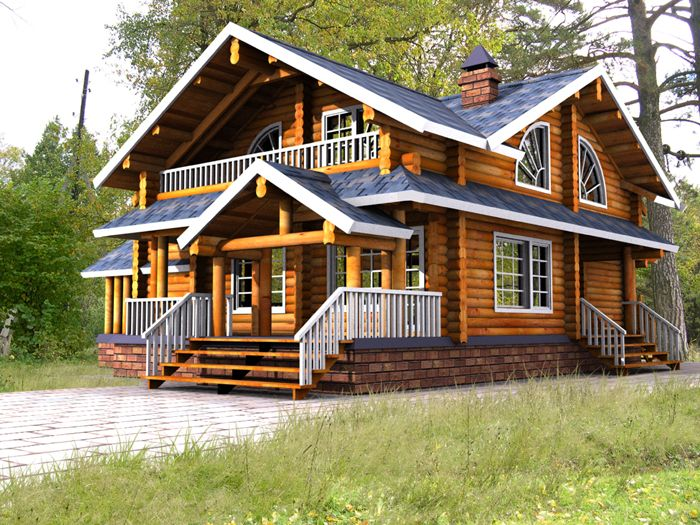 Wood house modern ideas wooden houses cabin and woods for Wood cabin homes
