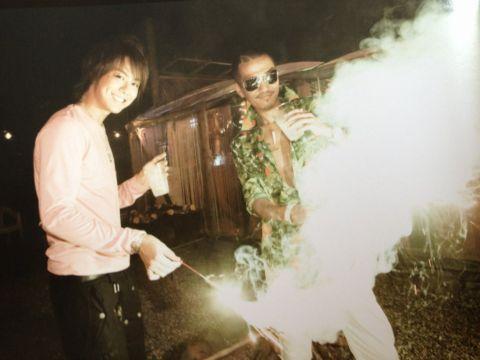EXILE! Takahiro and atsushi