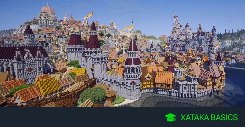 23 Mapas Originales Y Espectaculares Para Jugar En Minecraft Minecraft Mapas Juegos De Aventura
