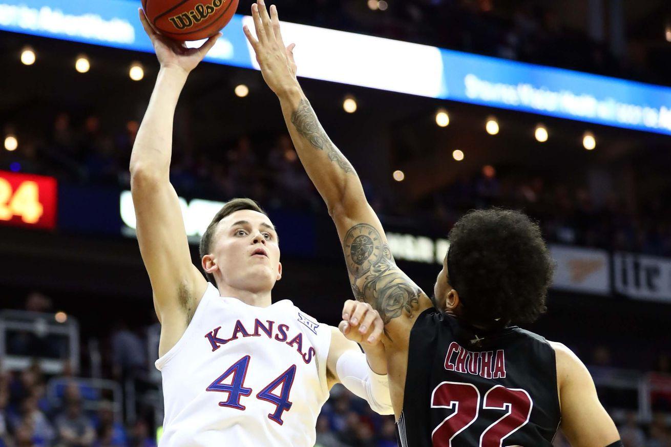 NCAA basketball rankings Kansas jumps into No. 1 spot