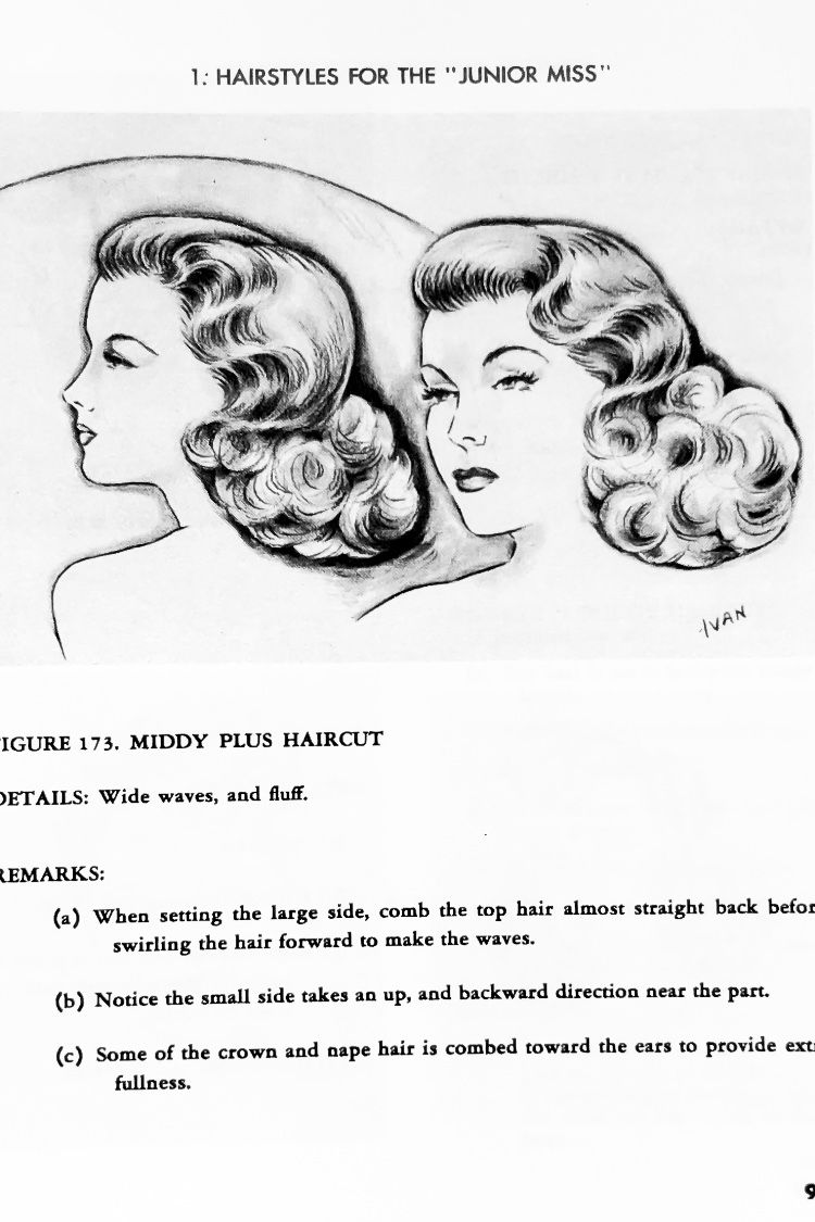 Vintage Hairstyling You Can Do Full Book Pdf Moto Glam Vintage Hairstyles Tutorial Vintage Hairstyles Hair Styles