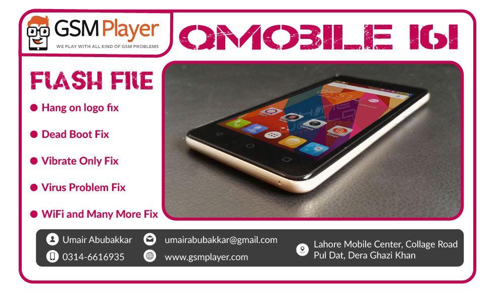 QMobile i6i Flash File MT6580 v5 1 with Flash Tool 100