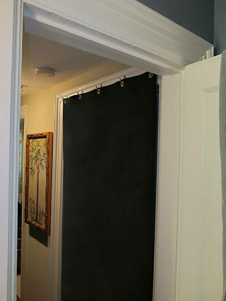 The AcoustiDoor™ Is A Retractable Sound Blocking Panel That Hangs Over Any  Door Frame Inside Your House To Reduce Noise Between Rooms