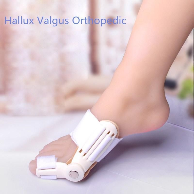 Hallux Valgu Protector Hallux Valgus Orthopedic Bunion Device Fixed Thumb Braces Corrector Toe Adjust Pain Relief Foot Care Tool
