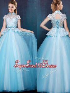 Sweet 16 Dresses Aqua