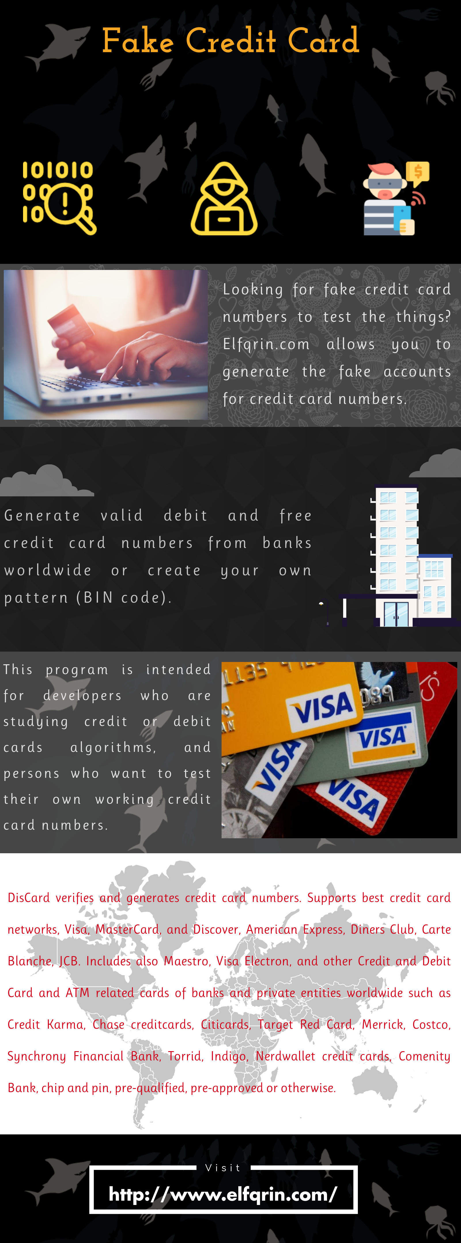 Fake Visa Card Numbers With Security Code