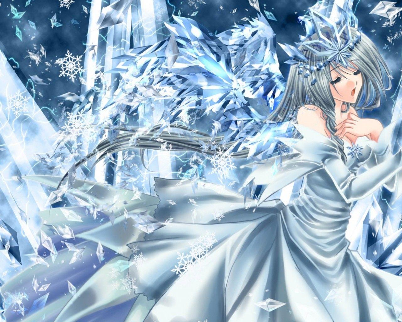 Anime Ice Princess