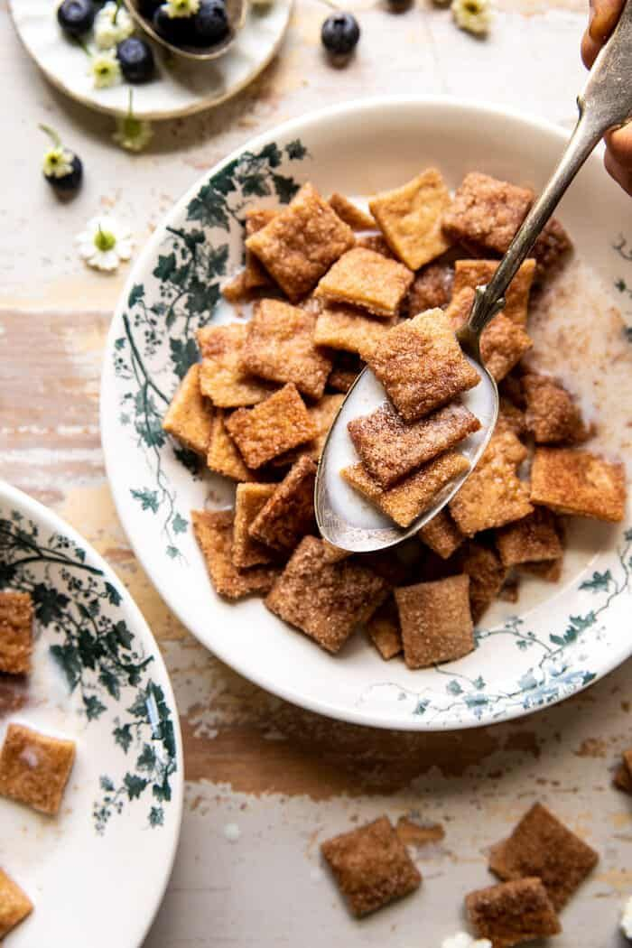Homemade Cinnamon Toast Crunch. - Half Baked Harvest