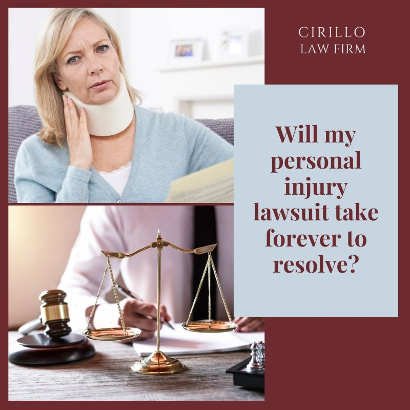 Many people avoid filing a personal injury lawsuit as they