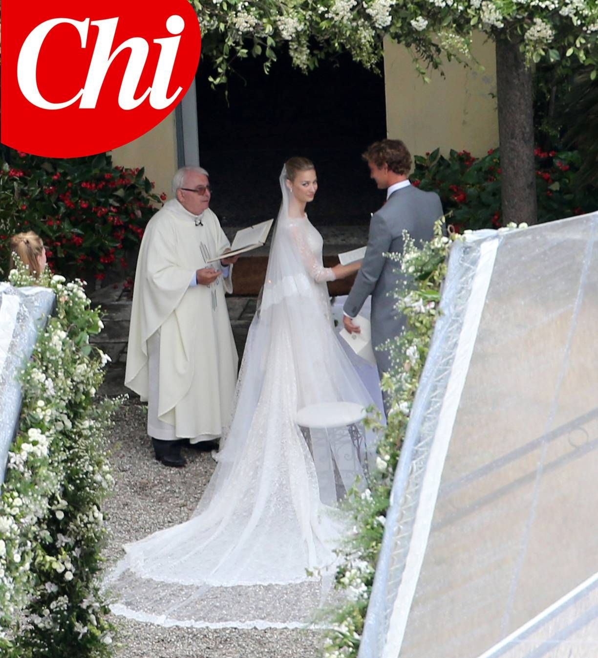 Tricia Nixon Wedding Gown: Vestidos De Boda Real, Pierre Casiraghi